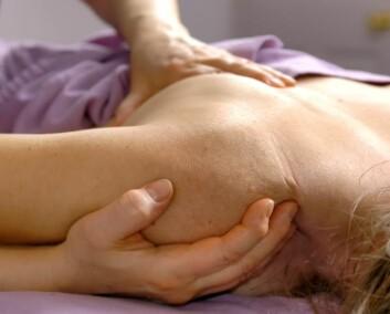 """""""Fysioterapi er svært viktig,for eksempelfor pasienter som har gjennomgått en operasjon. (Illustrasjonsfoto: iStockphoto)"""""""