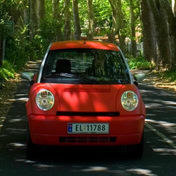 Think-bil i Sør-Afrika (Foto: Think)