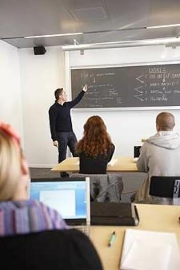 Lærarar kan mistolke elevar som ikkje delar deira syn på verdien av å ta utdanning, ifølge ny forsking. (Illustrasjonsfoto: www.colourbox.no)