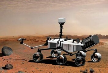 """NASAs Mars Science Laboratory. (Illustrasjon: NASA)"""