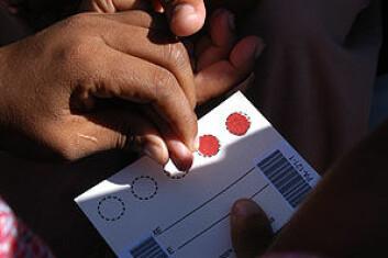 """""""I afrika sør for Sahara har nå 30 millioner mennesker HIV/AIDS."""""""