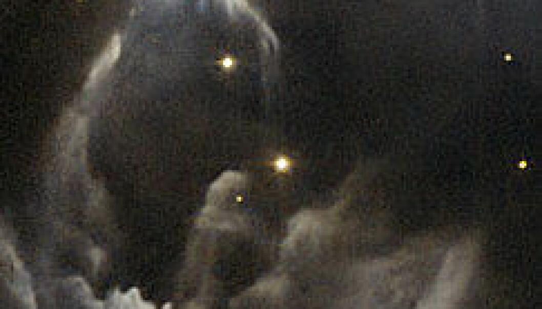 Mørkt og mystisk fra Hubble