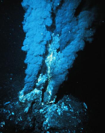 """""""Undersjøiske vulkaner bidro med viktige stoffer for at livet skulle oppstå på jorda."""""""