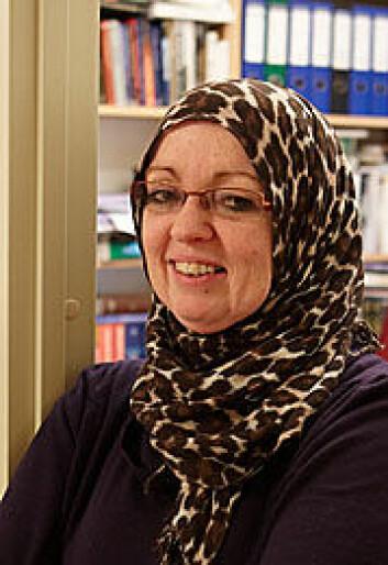 Fatwainstitusjonen er viktig for muslimer, sier Lena Larsen. (Foto: Annica Thomsson)