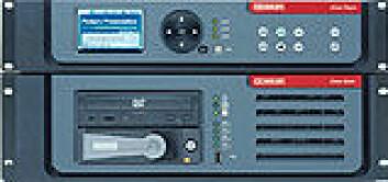 """""""Dekoder (øverst) og harddisk-enhet for visning og lagring av digitale kinofilmer fra Dolby. Foto: Dolby/Hjalmar Wilhelmsen A/S"""""""