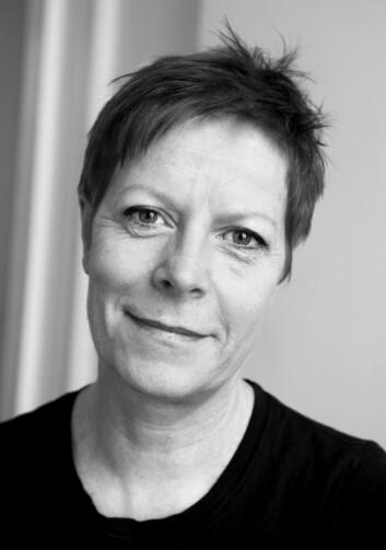 Dramaturgien i programmet Hjernevask passer bedre i en westernfilm enn i et forskningsformidlingsprogram, mener Wencke Fugelli Mühleisen. (Foto:Gyldendal Norsk Forlag)