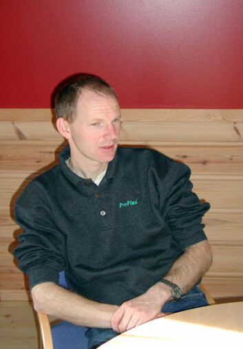 Oppdretter Håkon Tombre er leder for Hardangerfjordlauget, som samler oppdrettsnæringa i Hardangerfjorden.