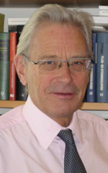 Professor Hans Christian Bugge. (Foto: Privat)