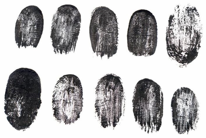 Selv eneggede tvillinger har forskjellige fingeravtrykk, forteller danske forskere. (Foto: Colourbox)