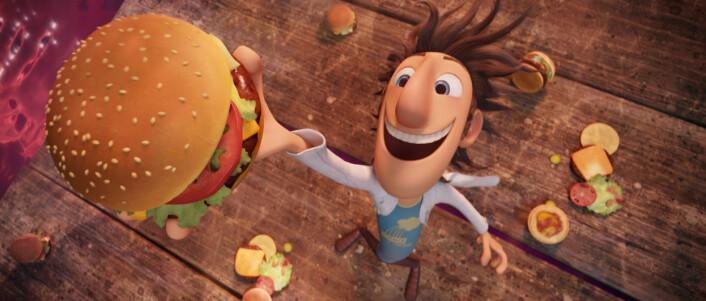 """""""Fra filmen Det regner kjøttboller. (Bilde: Walt Disney Studios Motion Pictures Norway)"""""""