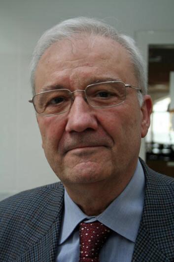 Marinbiolog og tidligere FAO-topp Serge Michel Garcia. (Foto: Asle Rønning)