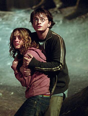 """""""Til no er seks bøker om trollmannskuleeleven Harry Potter gjeve ut. Fleire av bøkene er òg filmatisert."""""""