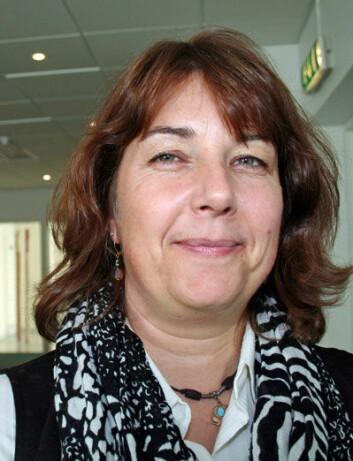 Marinbiolog Susanne McDermott. (Foto: Asle Rønning)