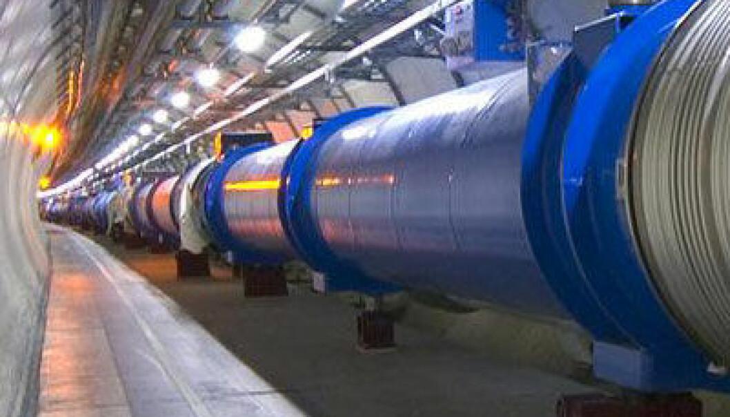 Large Hadron Collider (LHC). (Foto: Cern)