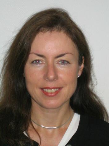 Aina M. Berg ved IRIS petroleum. (Foto: IRIS)