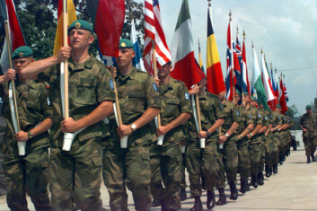 TMBN-soldater fra SFOR-styrken.