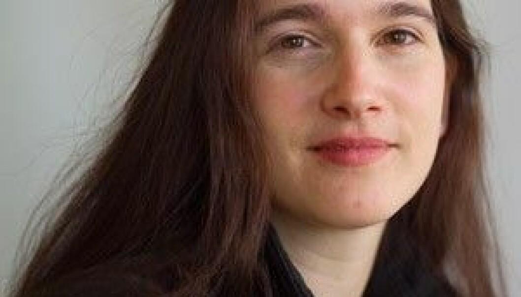 """Sonja Erlenkamp. (Foto: Annica Thomsson)"""