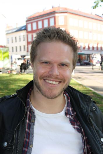 Ole Magnus Totland. (Foto: Kristin Engh Førde)