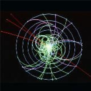 """""""Spor etter Higgsbosonet. (Bildet tilhører CERN)"""""""