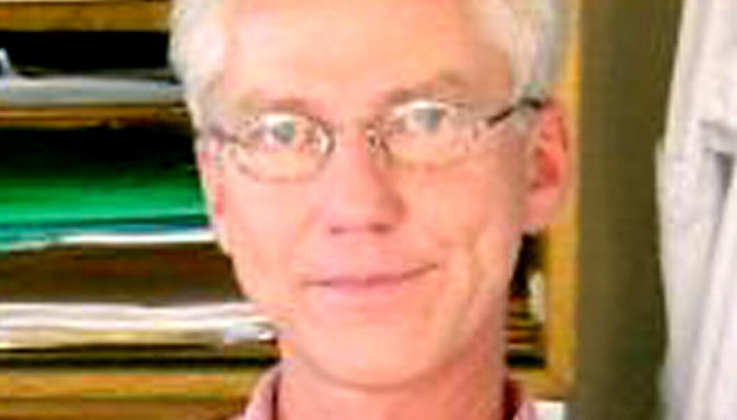 """""""Professor Peter Alestrøm ved Norges Veterinærhøgskole. (Foto: Tom Ask)"""""""