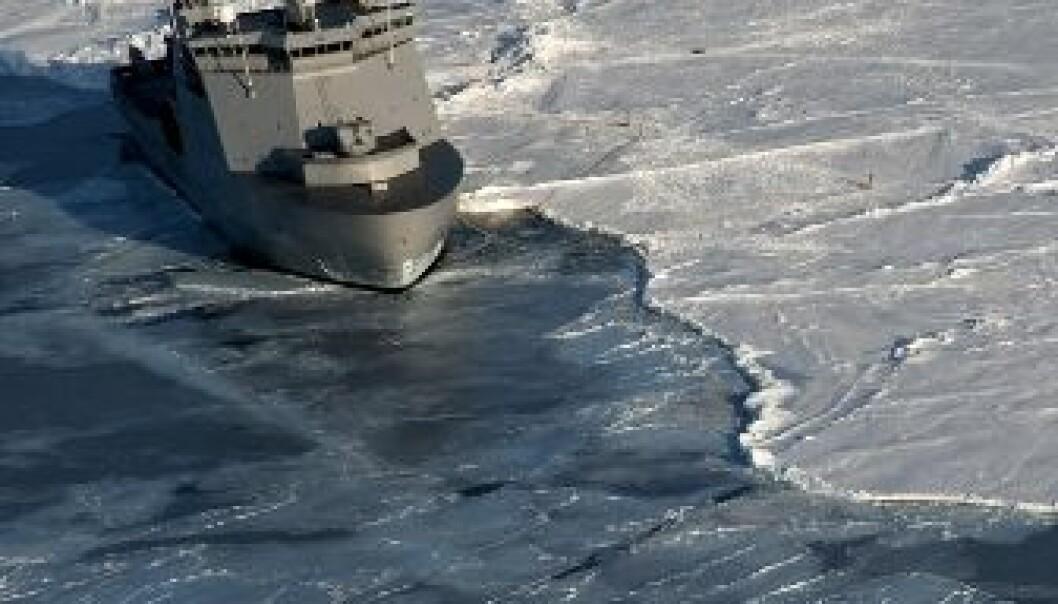 Forsker for sikrere Arktis