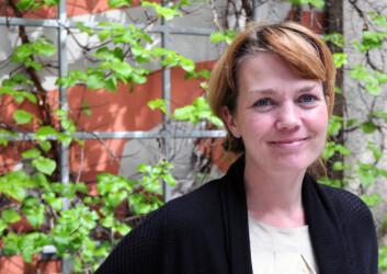 – Politikere lar seg forføre av kultur, sier stipendiat Heidi Bergsli ved HiO. (Foto: Stig Nøra)