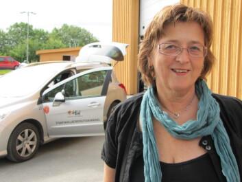 Eva Brustad Dalland, stipendiat ved Høgskolen i Nord-Trøndelag. (Foto: Bjørnar Leknes)