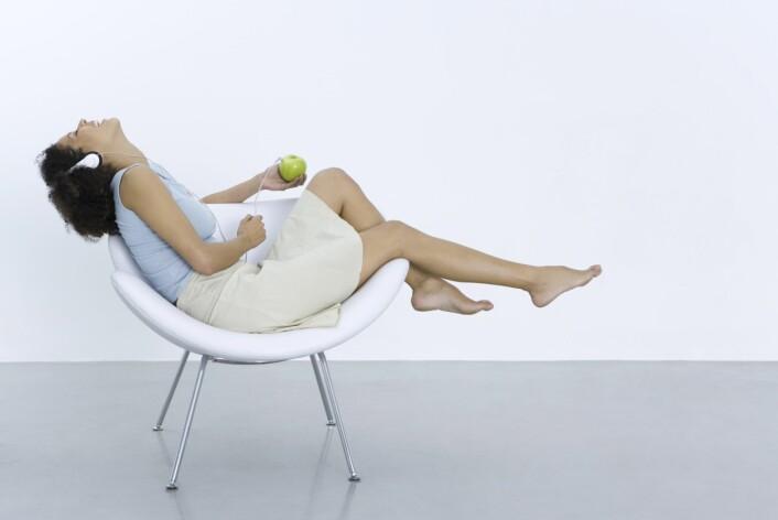 """""""Å lære seg å slappe bedre av gjør det lettere å lytte til kroppens signaler, sier en av studiens forfattere. (Illustrasjonsfoto: www.colourbox.no)"""""""