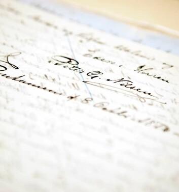 De eldste dokumentene går tilbake til 1820-årene og har direkte sammenheng med den voksende misjonsinteressen i Norge på den tiden. (Foto: Elisabeth Tønnessen)