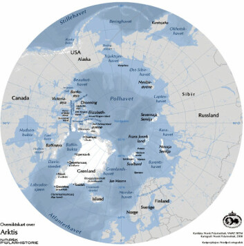 Klimaendringene smelter isen i Arktis og åpner for økt næringsaktivitet.
