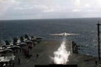 """""""Katapulter er helt nødvendige for at fly på hangarskip skal klare å lette."""""""
