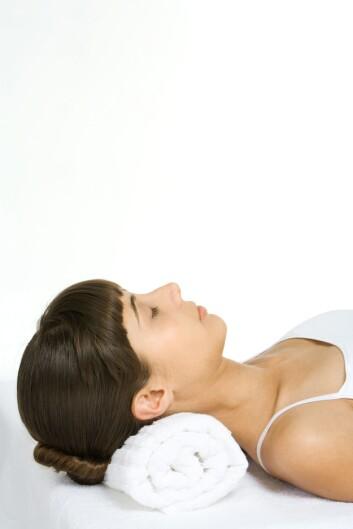 """""""Alle ikke-slankingsmetodene var ifølge forskerne effektive, men mest suksess hadde de pasientene som lærte, og fortsatte åøve på, ulike avslappingsmetoder. (Illustrasjonsfoto: www.colourbox.no)"""""""