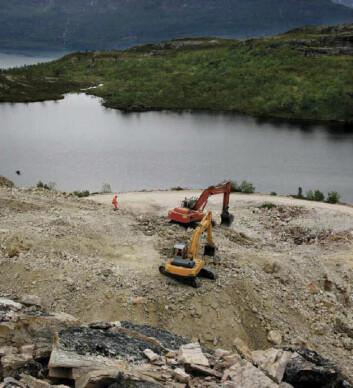 Håkonsheia i Hamarøy kommune er et av stedene der Norwegian crystallites tar ut kvarts. (Foto: Gemini)