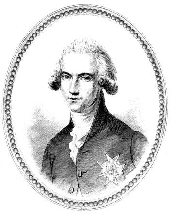 Johan Gabriel Oxenstierna levde i en tid hvor det var skammelig å ikke gråte. (Fra Wikimedia Commons)