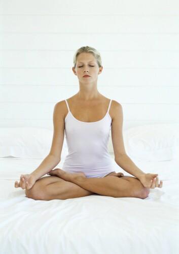 """""""Svendsen sier yoga kan være en viktig metode for å få overvektige til å bli bedre kjent med sin egen kropp. (Illustrasjonsfoto: www.colourbox.no)"""""""