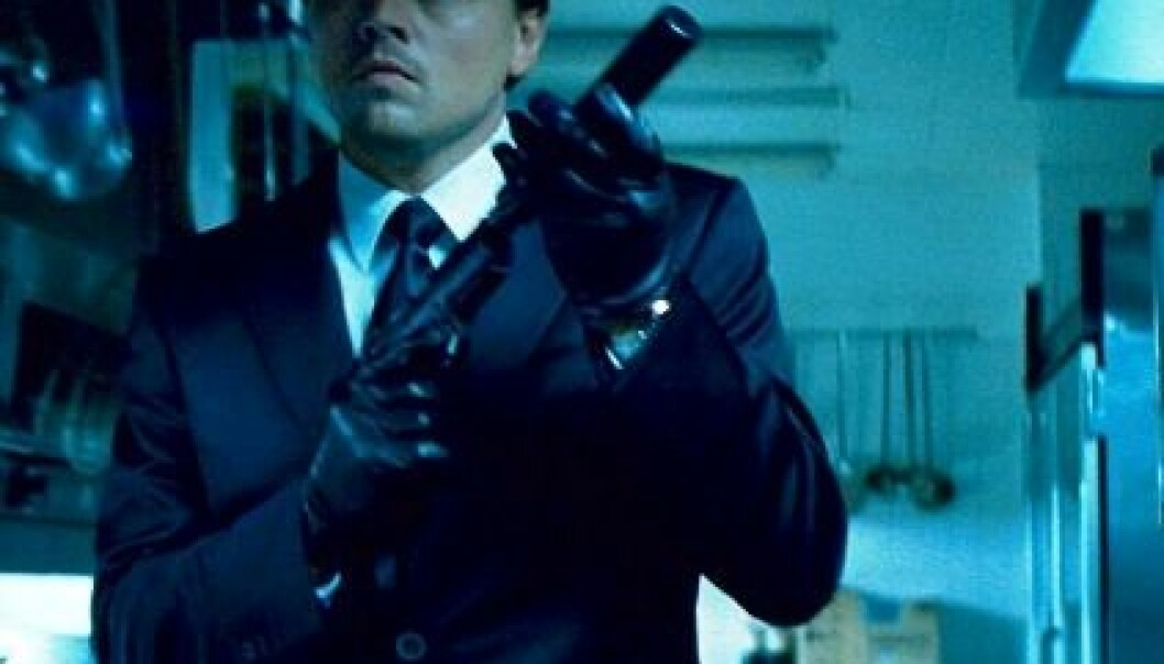 I storfilmen Inception, av regissør Christopher Nolan, tukler rollefiguren til Leonardo DiCaprio med forretningshemmeligheter i folks drømmer. (Foto: Warner Bros./Sandrew Metronome)