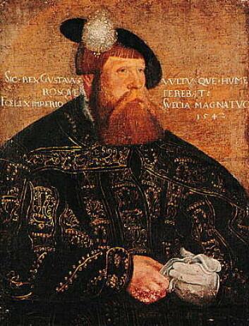 Gustav Vasa gråt for å få viljen sin i Riksdagen. (Ill.: Wikimedia Commons)