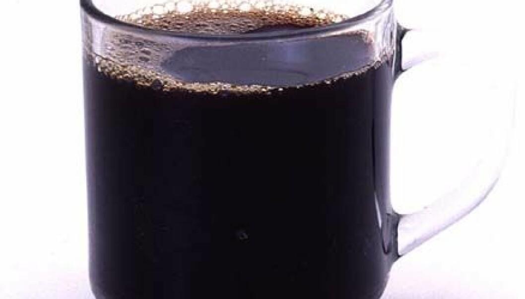 Kaffe er sunt - vi lover