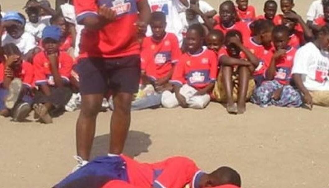 Idrett som AIDS-forebygging