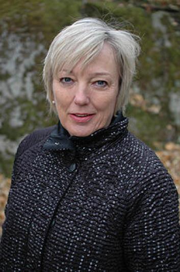 Siri Meyer, professor i kunsthistorie. (Foto: Kim E. Andreassen)