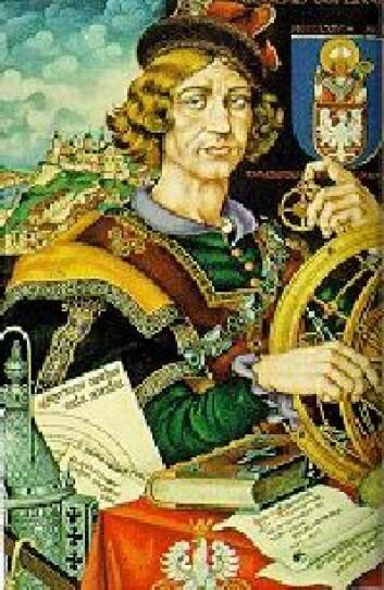 """""""Kopernikus: Sa at jorda gikk i bane rundt sola. Det var ikke bare populært."""""""