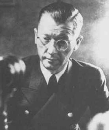 """""""Reichskommisar Josef Treboven beordret dødsdom for alle som drev med illegalt arbeid. Han var også hovedansvarlig for brenningen av Finnmark. Terboven sprengte seg selv i lufta en halv time før frigjøringen 8.mai 1945"""""""