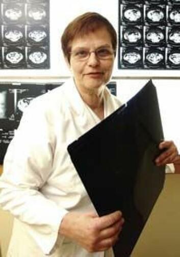Sophie D. Fosså er leder for Nasjonalt kompetansesenter for langtidsstudier etter kreftbehandling. (Foto: Ola Sæther)