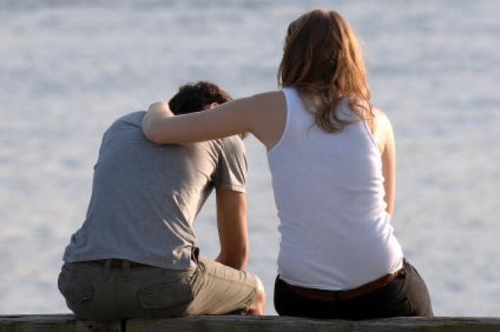 """""""At et knust hjerte gjør vondt er ifølge forskerne ikke en metafor. (Illustrasjonsfoto: iStockphoto)"""""""
