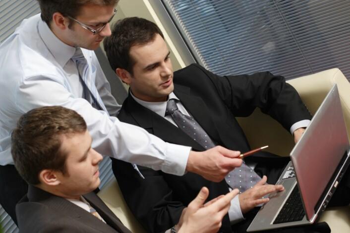Utvikling av nye IKT-løsninger blir stadig viktigere for konkurransekraften i egen bransje, ifølge norske bedrifter. Ill.foto: Shutterstock.com