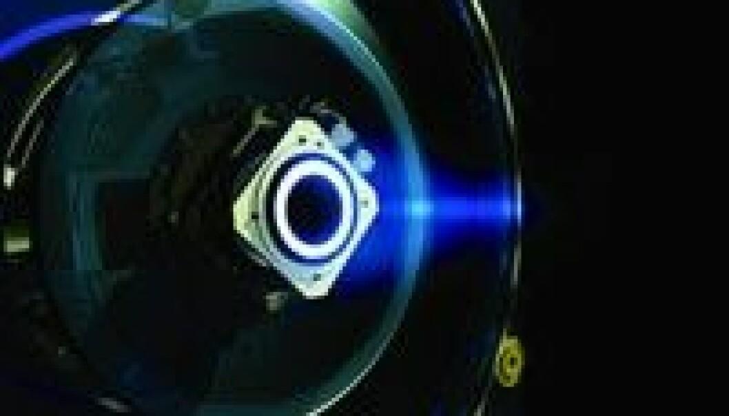"""""""SMART-1 sin ionemotor. (Foto: ESA)"""""""