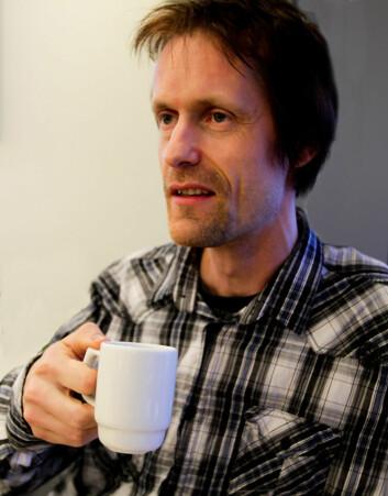 Paal Fagerheim på Høgskolen i Nesna. (Foto: Halvor Hilmersen)