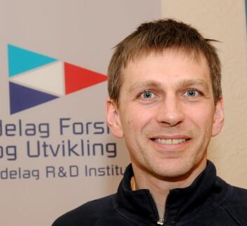 Seniorforsker Roald Sand, Trøndelag Forskning og Utvikling. (Foto: Morten Stene)
