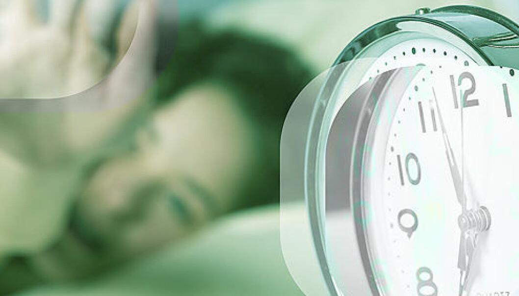 Lite søvn øker ikke ufør-risiko
