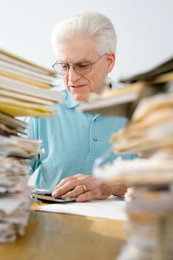 """""""Samlemani kan forårsake alvorlig stress, og forekommer oftere hos eldre. (Illustrasjonsfoto: www.clipart.com)"""""""
